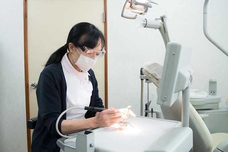 歯科医師が責任を持って最後まで